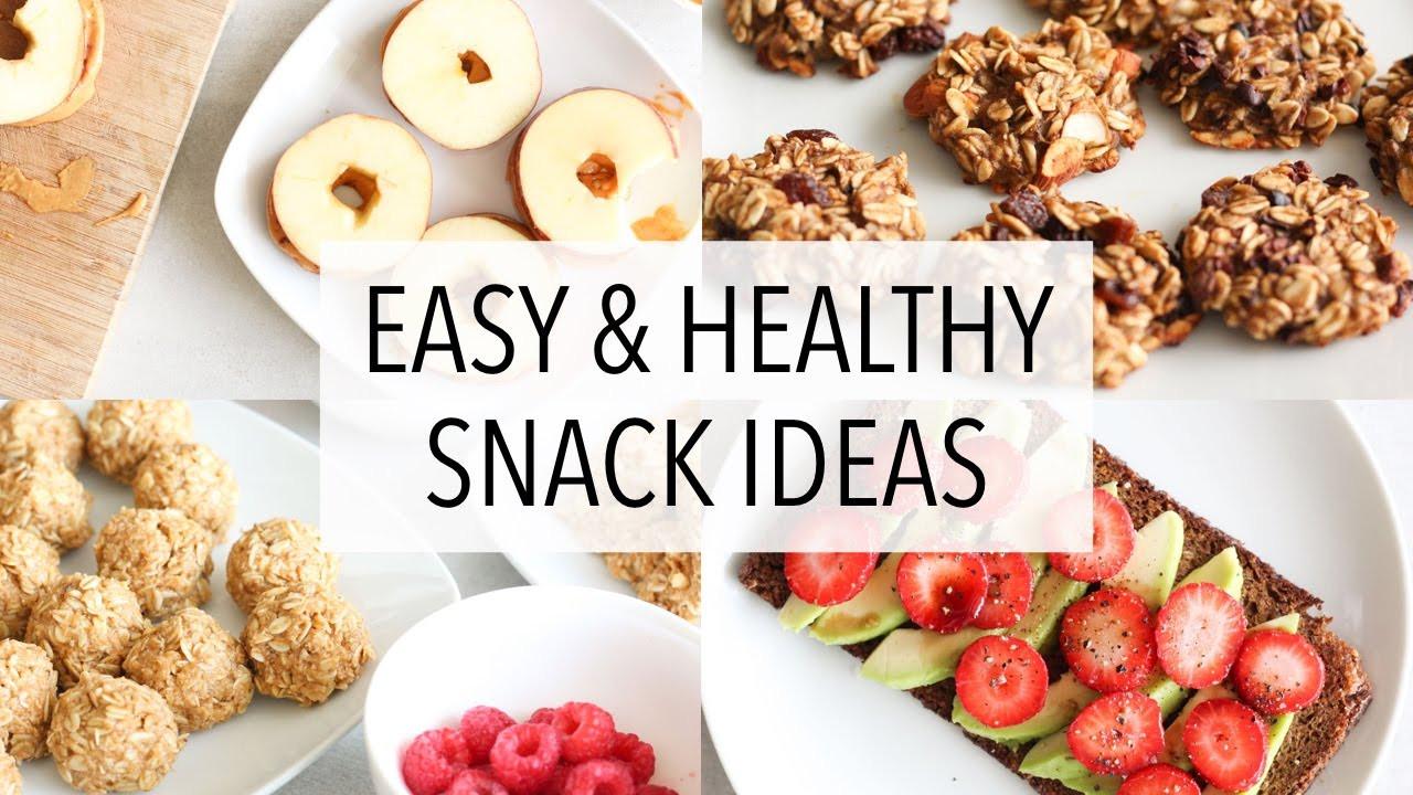 Healthy And Easy Snacks  EASY HEALTHY SNACK IDEAS