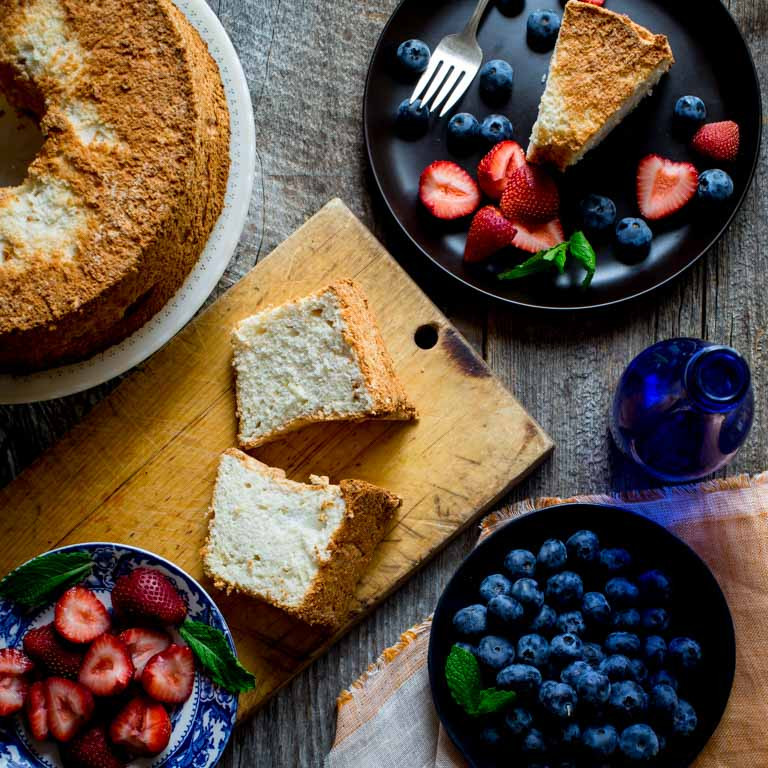 Healthy Angel Food Cake Recipe  angel food cake Healthy Seasonal Recipes