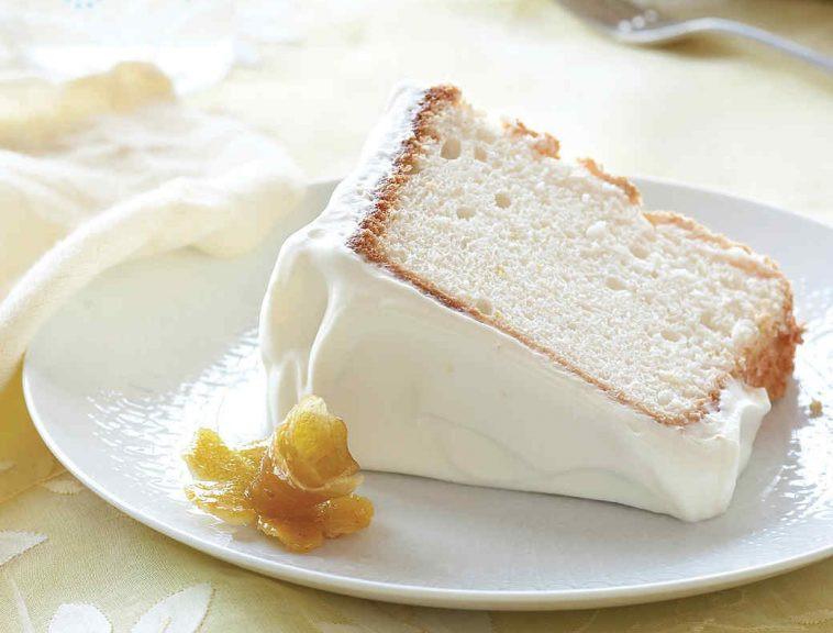 Healthy Angel Food Cake Recipe  Lemon Angel Food Cake Healthy Recipes