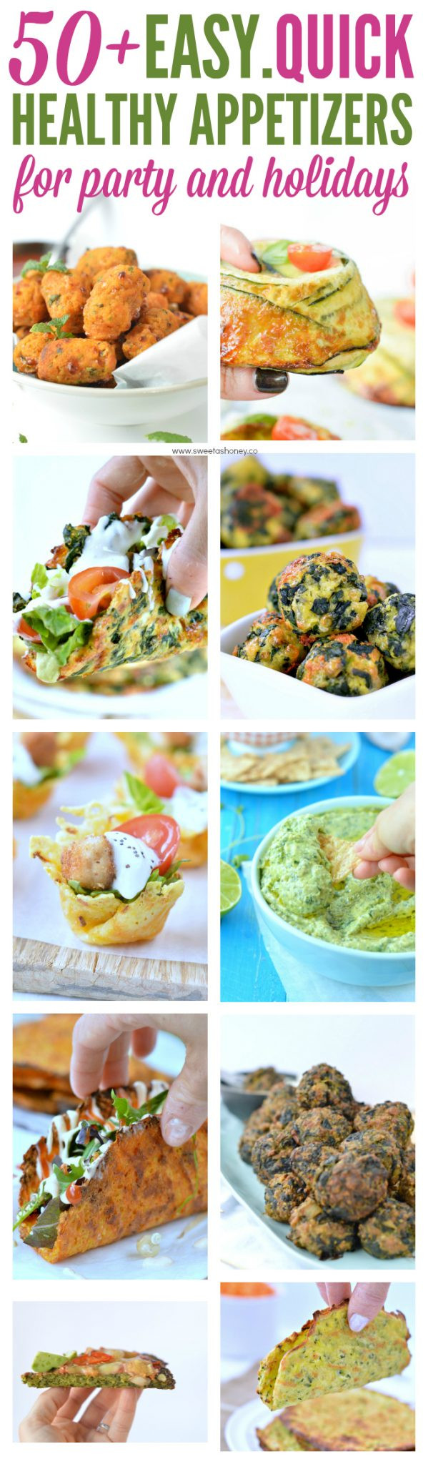 Healthy Appetizers For A Crowd  Easy Healthy Appetizers Quick Finger Foods for a Party
