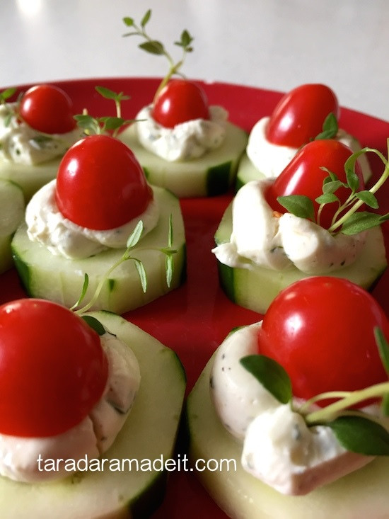 Healthy Appetizers For Potluck  Foo Friday Holiday Appetizers