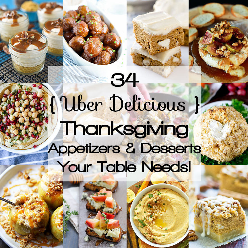 Healthy Appetizers For Thanksgiving  Healthy Thanksgiving Appetizers & Desserts