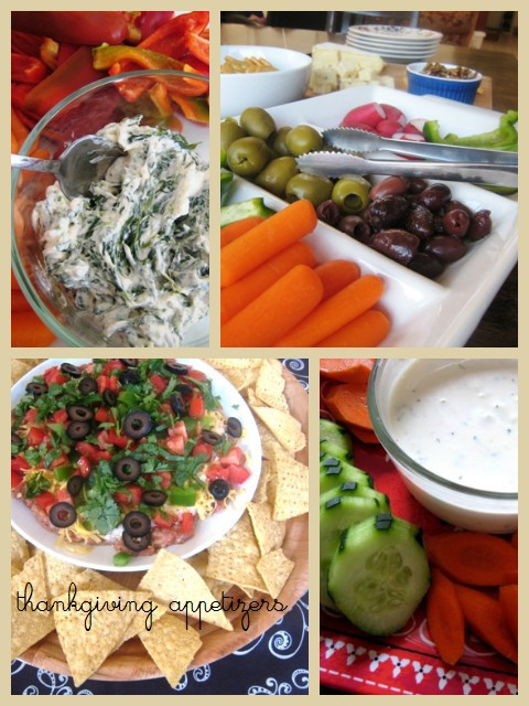 Healthy Appetizers For Thanksgiving  Thanksgiving Prep Appetizers