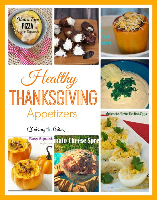 Healthy Appetizers For Thanksgiving  Healthy Thanksgiving Appetizers Cooking in Bliss