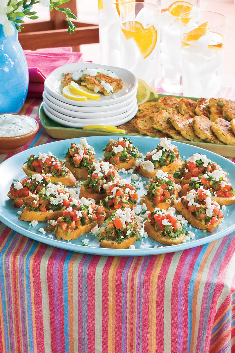 Healthy Appetizers Recipes  Healthy Appetizer Recipes and Party Snacks Southern Living