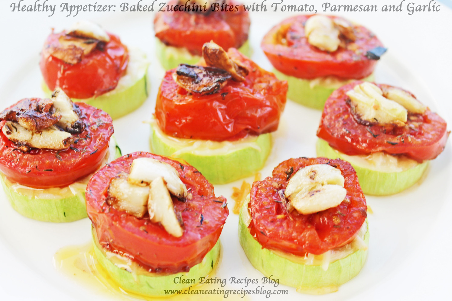 Healthy Appetizers Recipes  Healthy Appetizer Baked Zucchini Bite