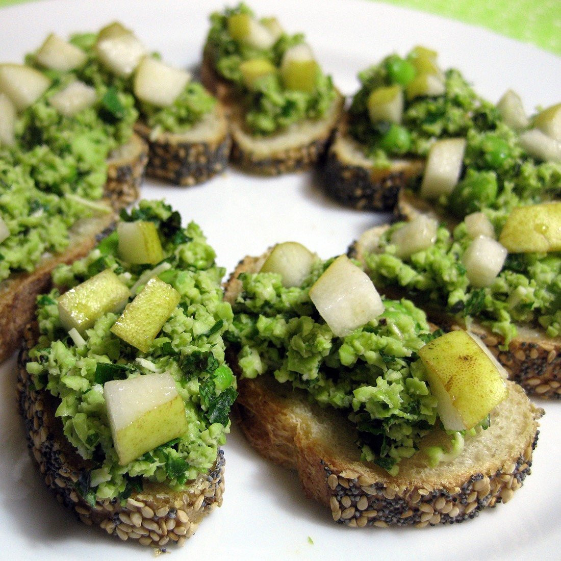 Healthy Appetizers Recipes  Recipe For Healthy Appetizer Made With Edamame and Pears