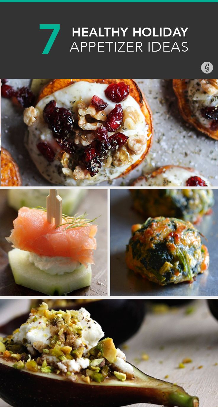 Healthy Appetizers Recipes  74 best images about Healthy Holidays on Pinterest
