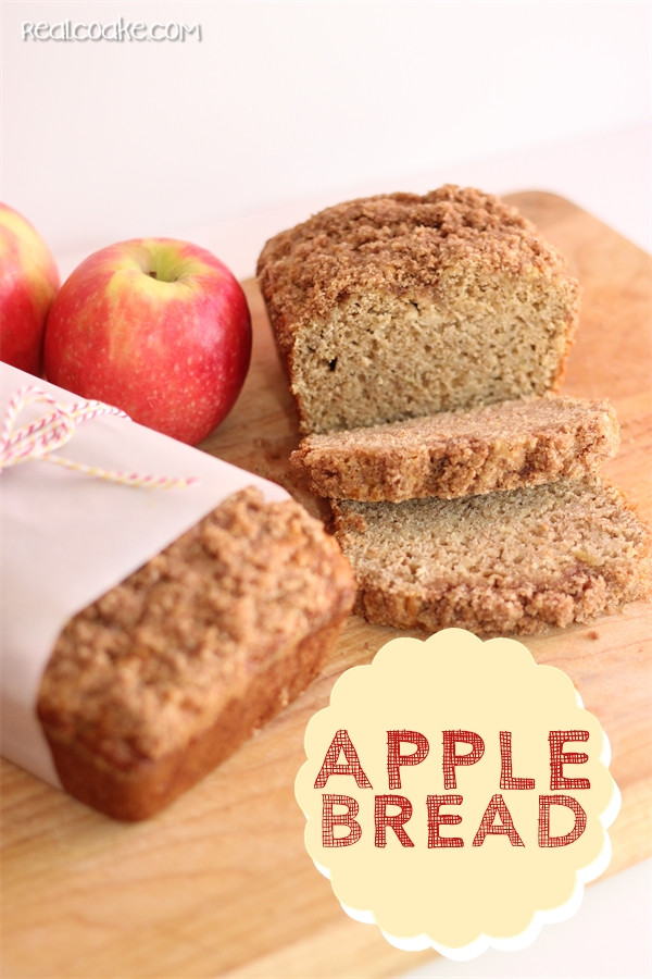 Healthy Apple Bread  Anita s Amazing Apple Bread The Real Thing with the