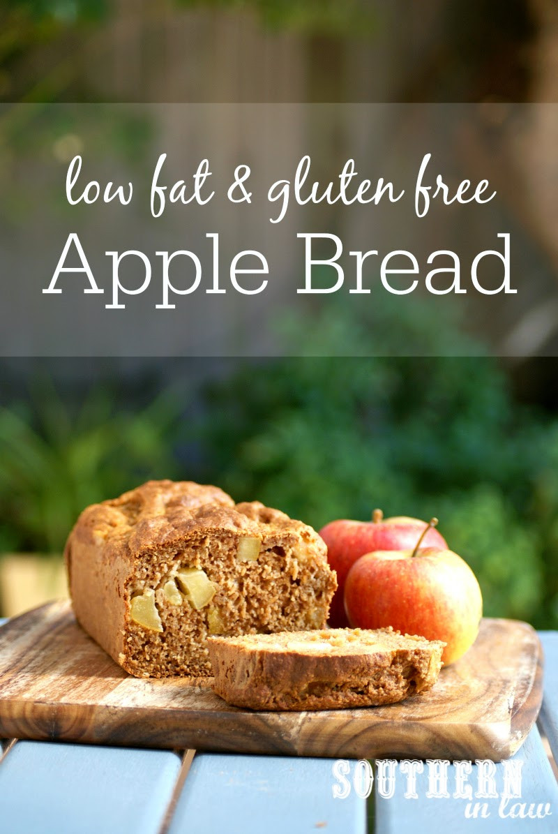 Healthy Apple Bread  Southern In Law Recipe Healthy Apple Bread