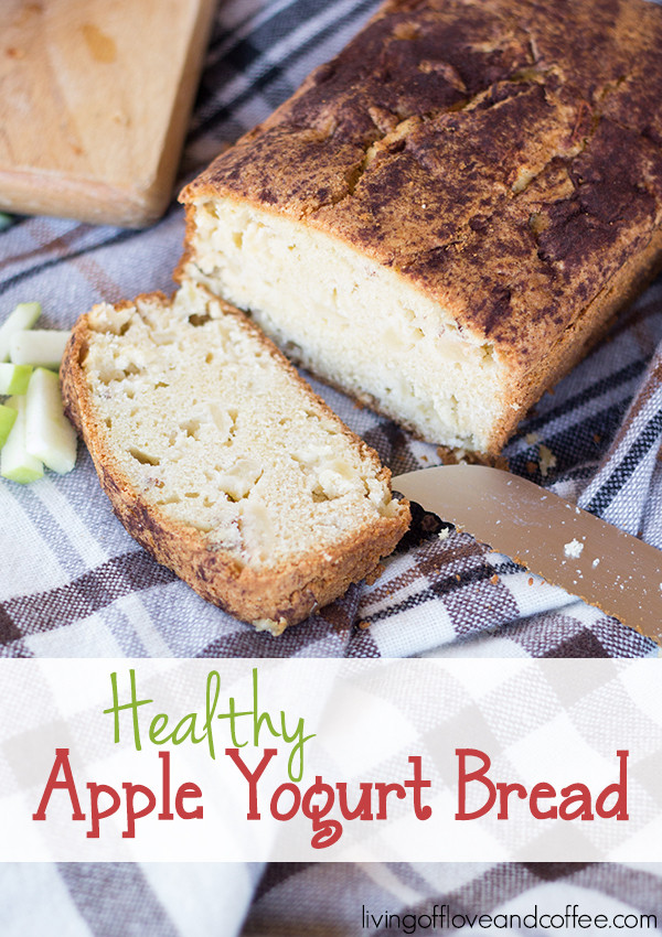 Healthy Apple Bread  Breakfast with Healthy Apple Yogurt Bread Recipe