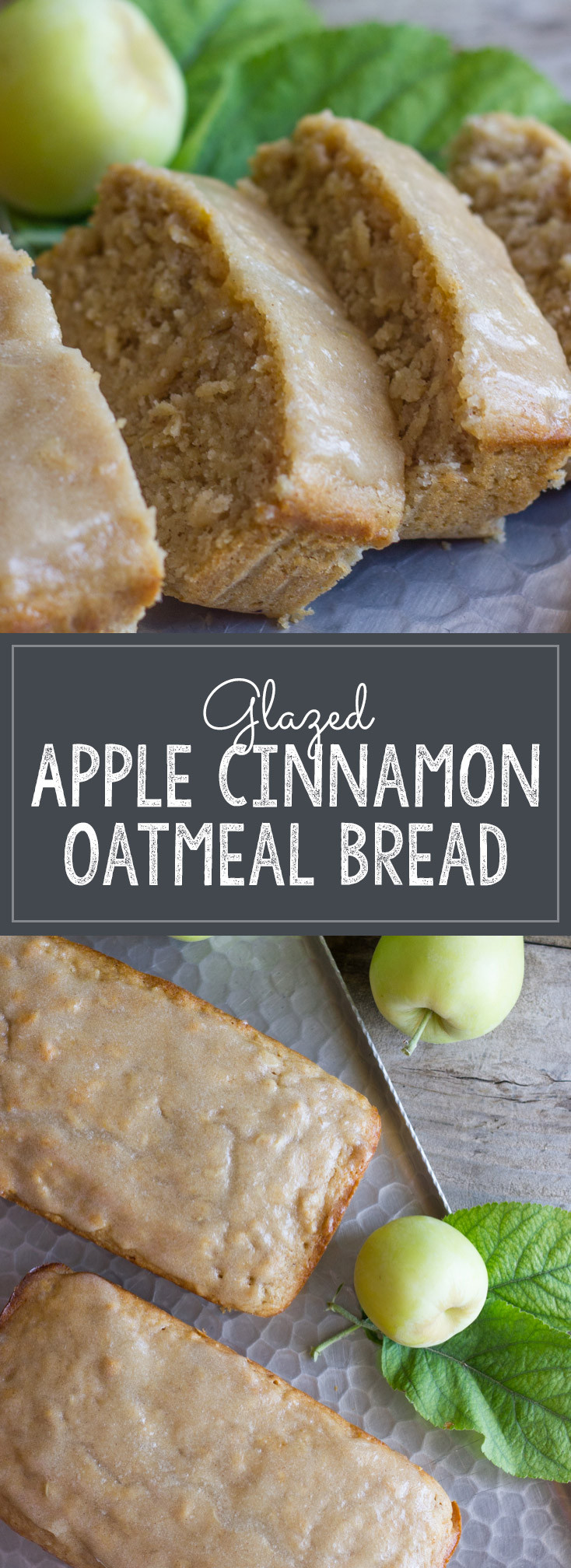 Healthy Apple Bread  healthy apple bread with oats