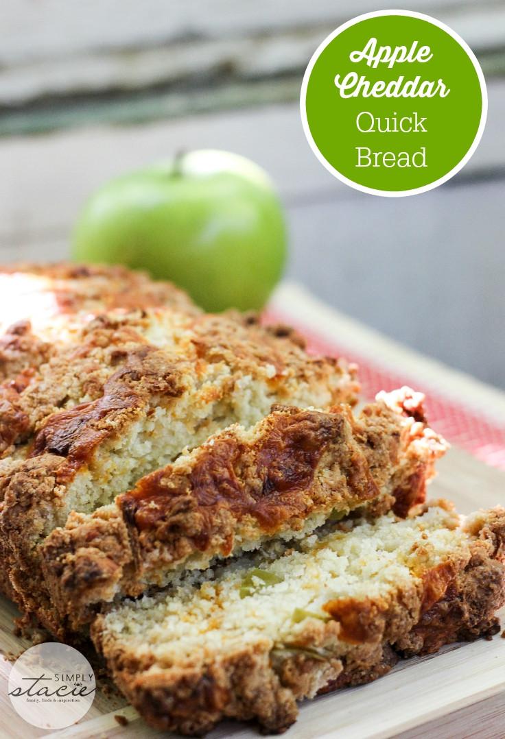 Healthy Apple Bread  healthy apple quick bread