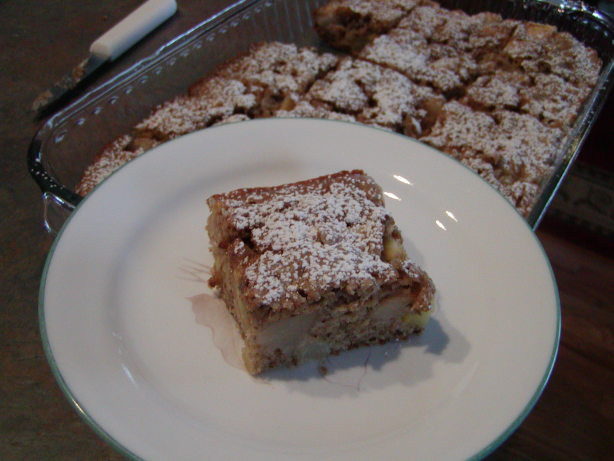 Healthy Apple Cake Recipe  Healthy Apple Pear Cake Recipe Food