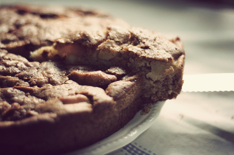Healthy Apple Cake Recipe  Yummy Vegan Apple Cake