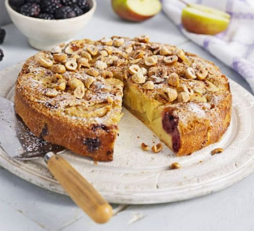 Healthy Apple Cake Recipe  Blackberry & apple cake recipe