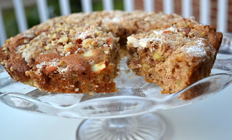 Healthy Apple Cake Recipe  Low Fat Apple Cake
