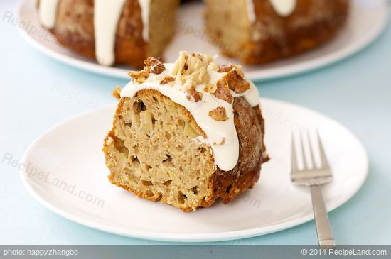Healthy Apple Cake Recipes With Fresh Apples  Fresh Apple Cake with Caramel and Walnuts Recipe