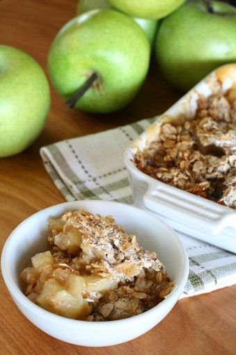 """Healthy Apple Cobbler  Clean Cuisine Challenge Day 47 The Best """"Whole Food"""" Desserts"""