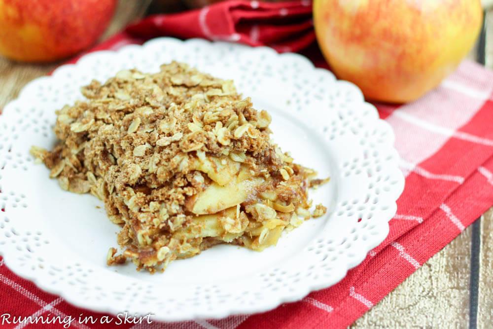 Healthy Apple Cobbler  Healthy Apple Crisp