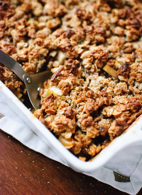 Healthy Apple Cobbler  Healthy Gluten Free Apple Crisp Cookie and Kate