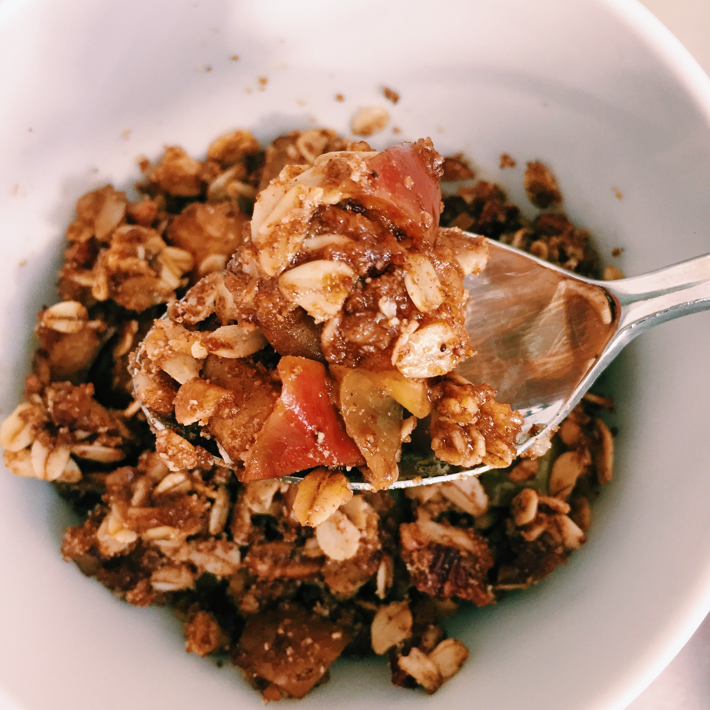Healthy Apple Cobbler  Healthy Apple Crisp Your New GO TO Healthy Fall Dessert