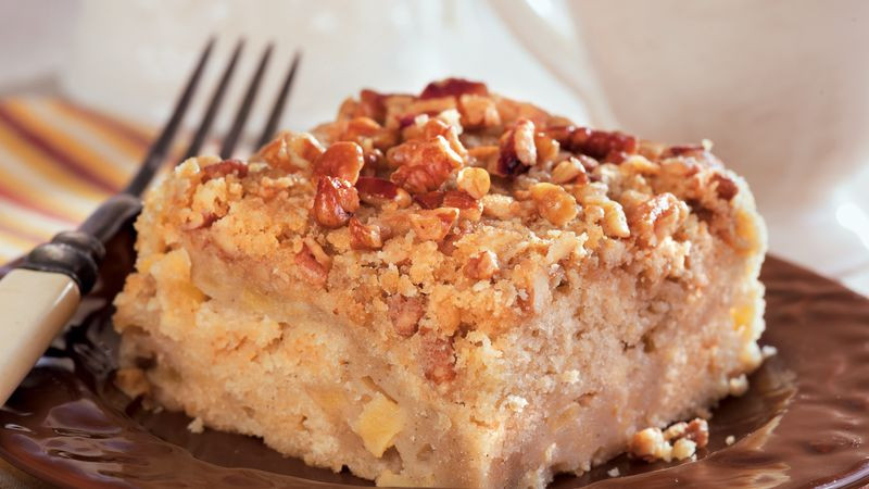 Healthy Apple Coffee Cake  Spiced Apple Coffee Cake recipe from Betty Crocker