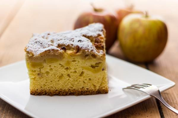Healthy Apple Coffee Cake  Moms Who Think Healthy Apple Coffee Cake Recipe