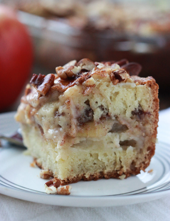 Healthy Apple Coffee Cake  Cozy Apple Coffee Cake