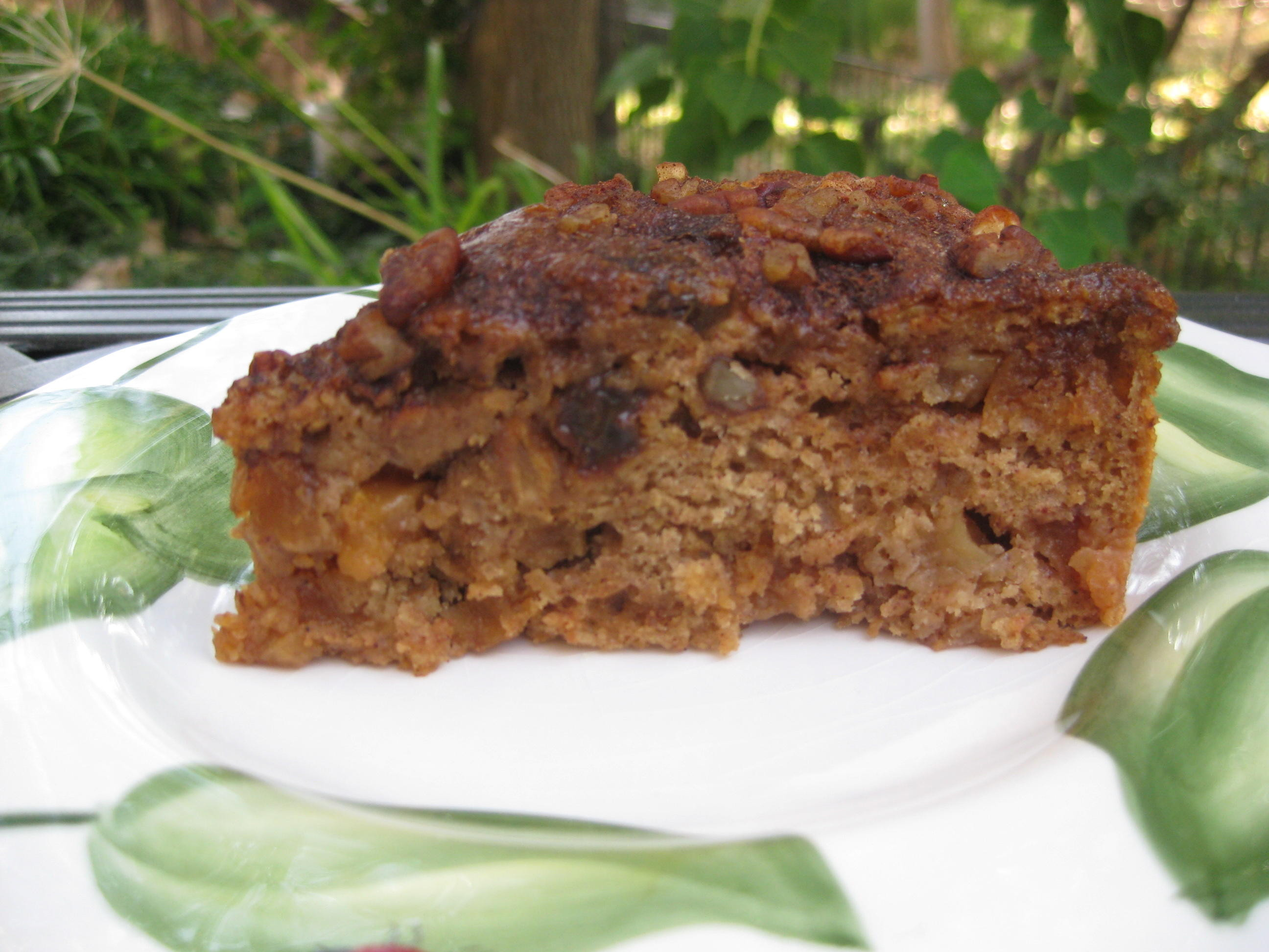 Healthy Apple Coffee Cake  Sour Cream Apple Coffee Cake Nutmeg Notebook