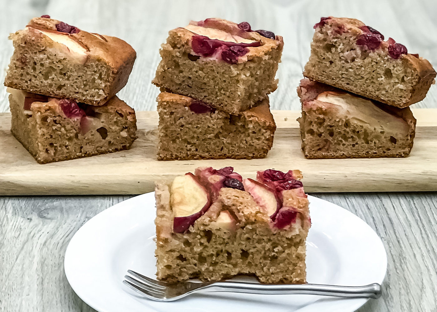 Healthy Apple Coffee Cake  Healthy Apple Cranberry Coffee Cake – Healthy by you