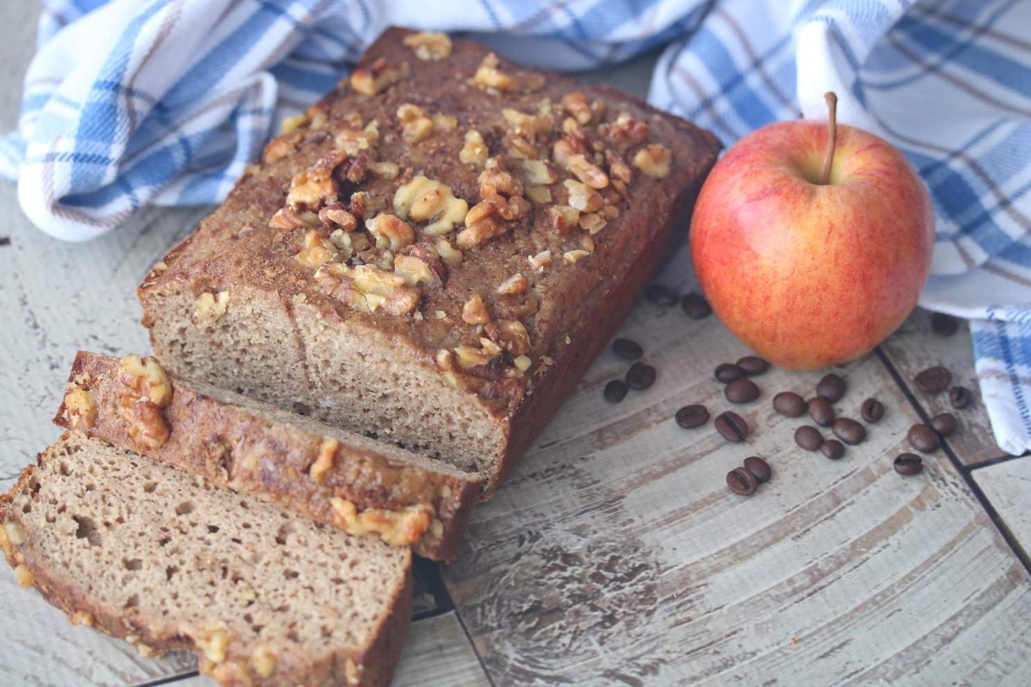 Healthy Apple Coffee Cake  Healthy Cinnamon Apple Coffee Cake Fit as a Mama Bear