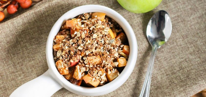 Healthy Apple Crisp Recipes  Recipe Healthy eating approved apple crisp for one