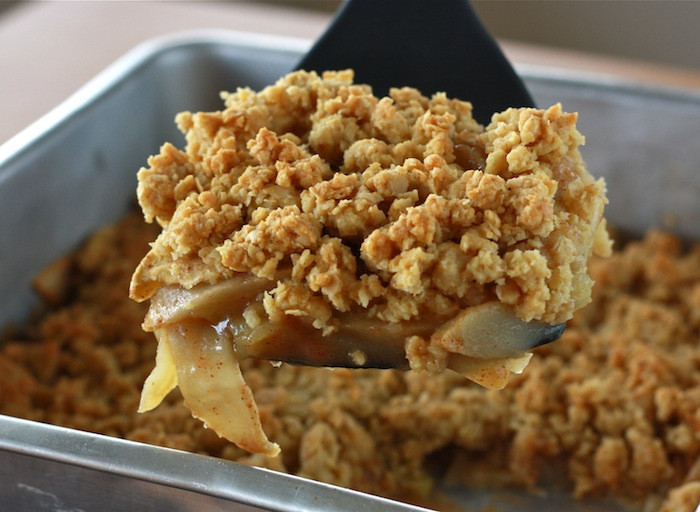 Healthy Apple Crisp Recipes  Skinny Apple Crisp For Thanksgiving Dessert