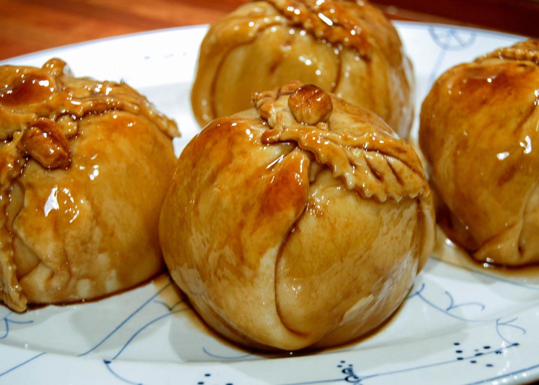 Healthy Apple Dumplings  My Mom s Old Fashioned Apple Dumplings