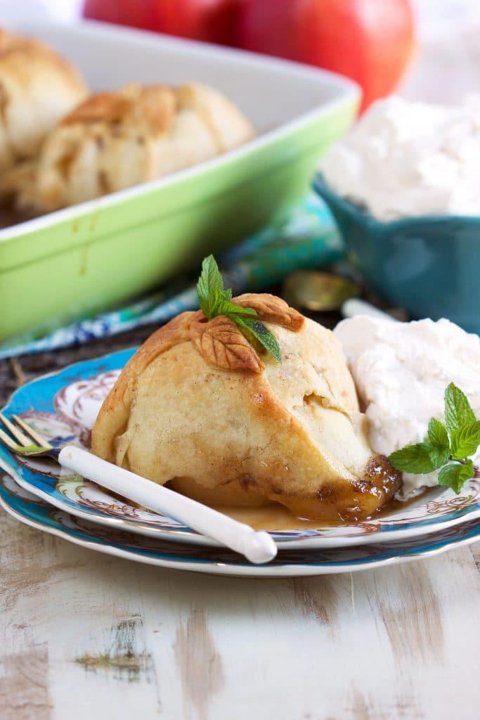 Healthy Apple Dumplings  Easy Apple Dumpling Recipe Video The Suburban Soapbox