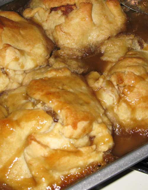 Healthy Apple Dumplings  Trisha Yearwood Apple Dumplings