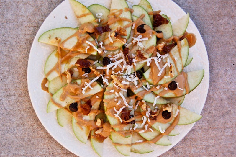 Healthy Apple Nachos  Apple Nachos