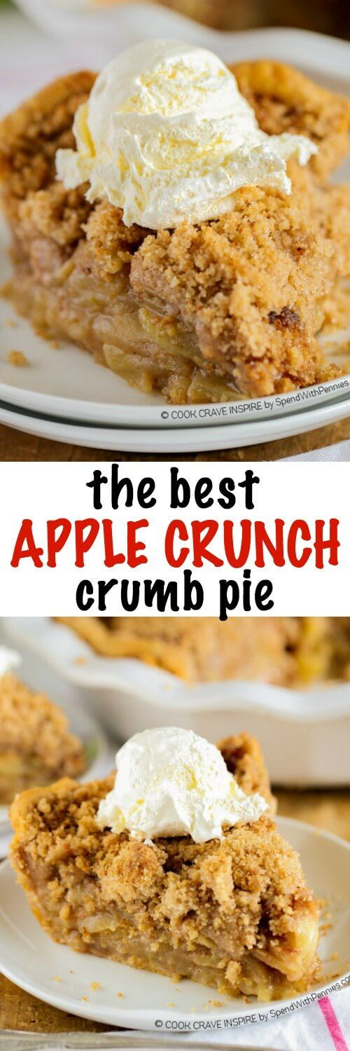 Healthy Apple Pie Recipes With Fresh Apples  The BEST Apple Crumb Pie This is truly the best apple pie