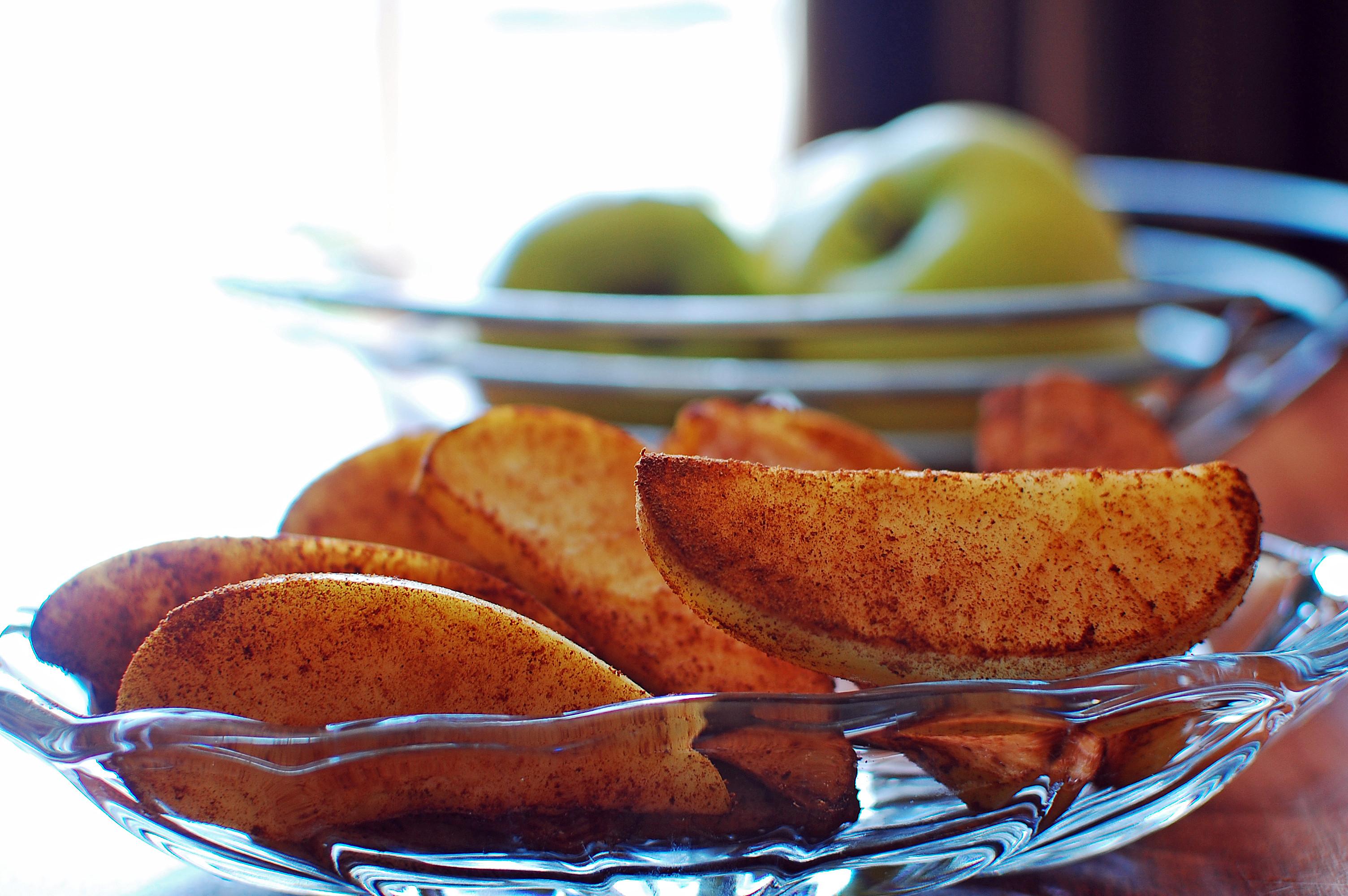 Healthy Apple Snacks  Cinnamon Apple Smacks Recipe Healthy Snack in a Flash