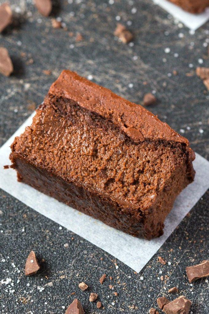 Healthy Applesauce Brownies  Healthy 3 Ingre nt Flourless Applesauce Brownies