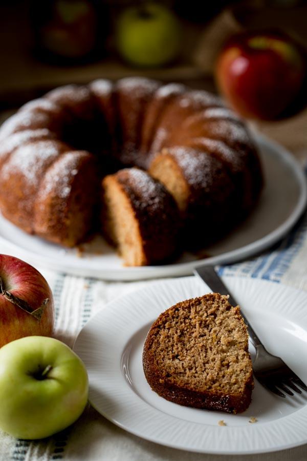 Healthy Applesauce Cake Recipe  gluten free applesauce bundt snack cake Healthy Seasonal