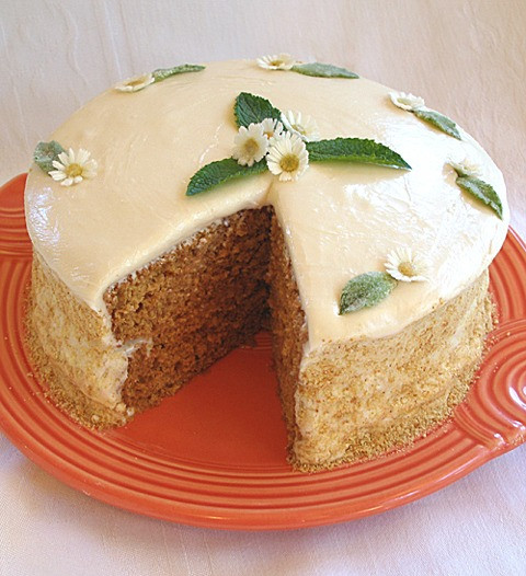 Healthy Applesauce Cake Recipe  Healthy Oven Applesauce Layer Cake