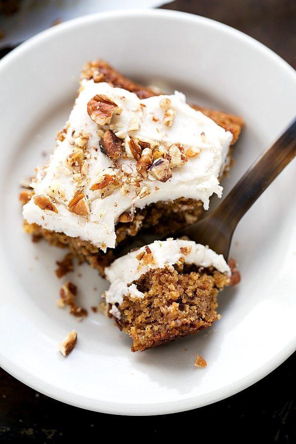 Healthy Applesauce Cake Recipe  Healthy Flourless Applesauce Spice Cake Chelsea s
