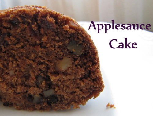 Healthy Applesauce Cake Recipe  Healthy and Nutritious Applesauce Cake A Delightful Home
