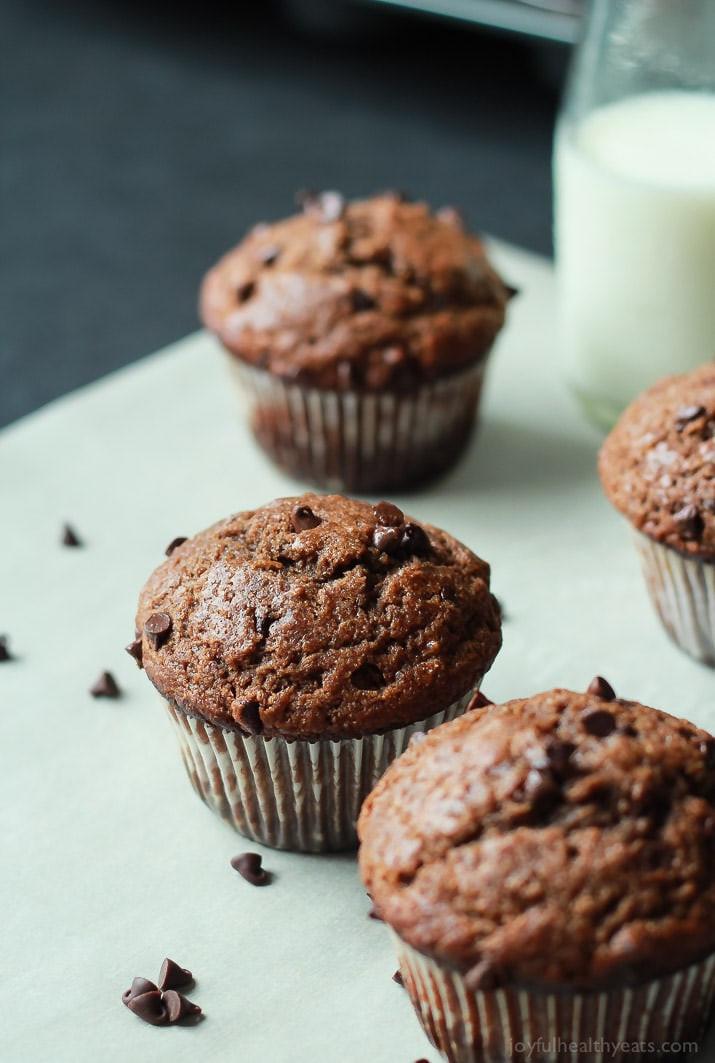 Healthy Applesauce Muffins No Sugar  banana muffins with applesauce no sugar