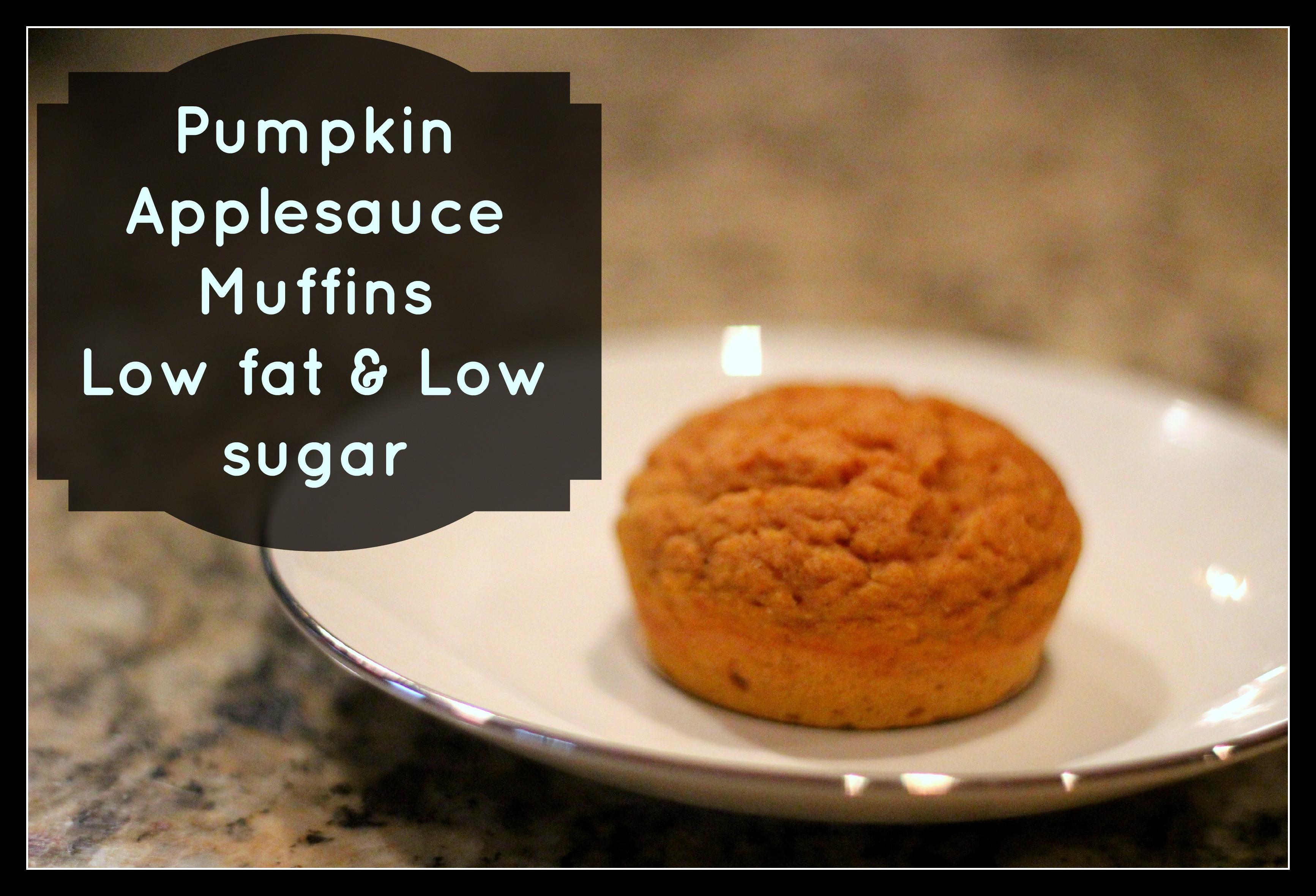 Healthy Applesauce Muffins No Sugar  Pumpkin Applesauce Muffins Trim Healthy Mama E Grassfed