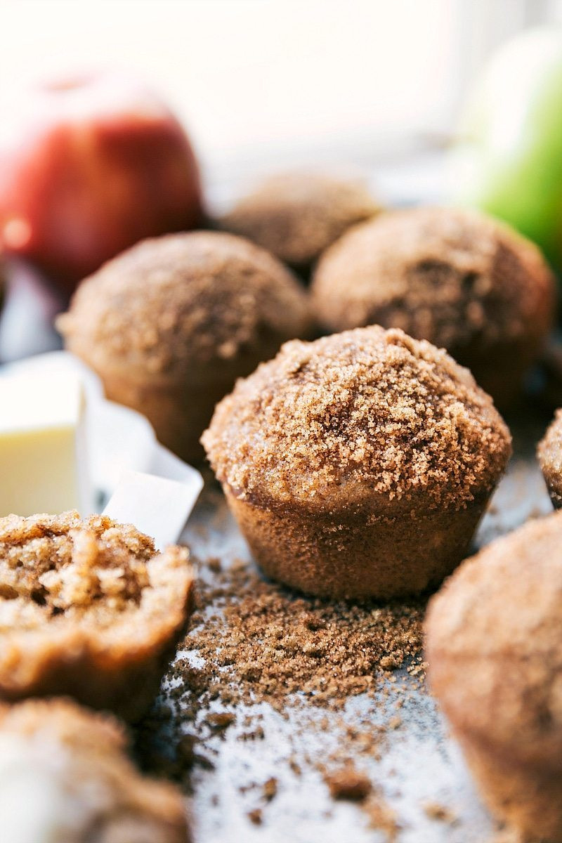 Healthy Applesauce Muffins  Healthy Applesauce Muffins Chelsea s Messy Apron