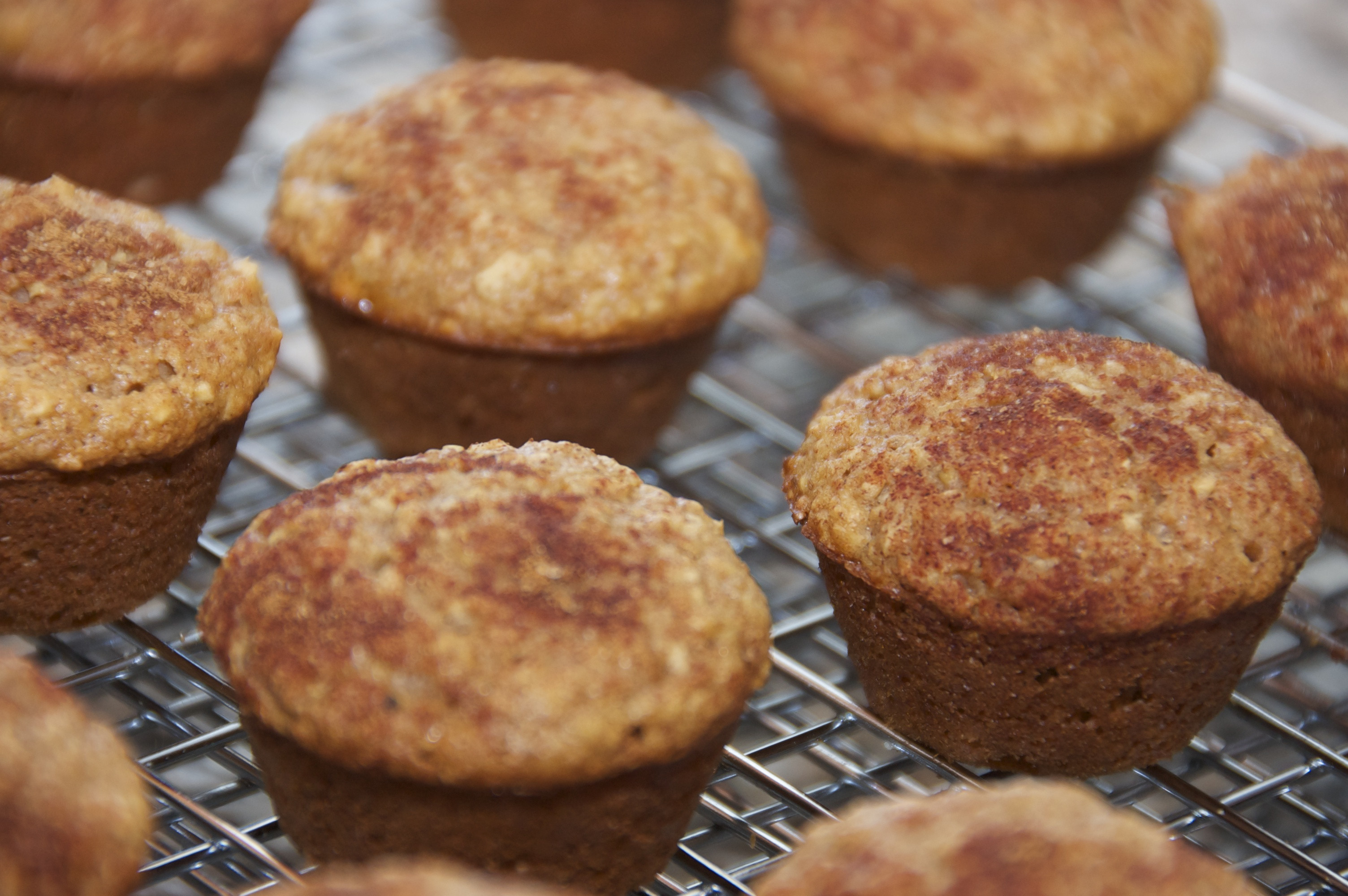 Healthy Applesauce Muffins  Healthy Applesauce Oatmeal Muffins