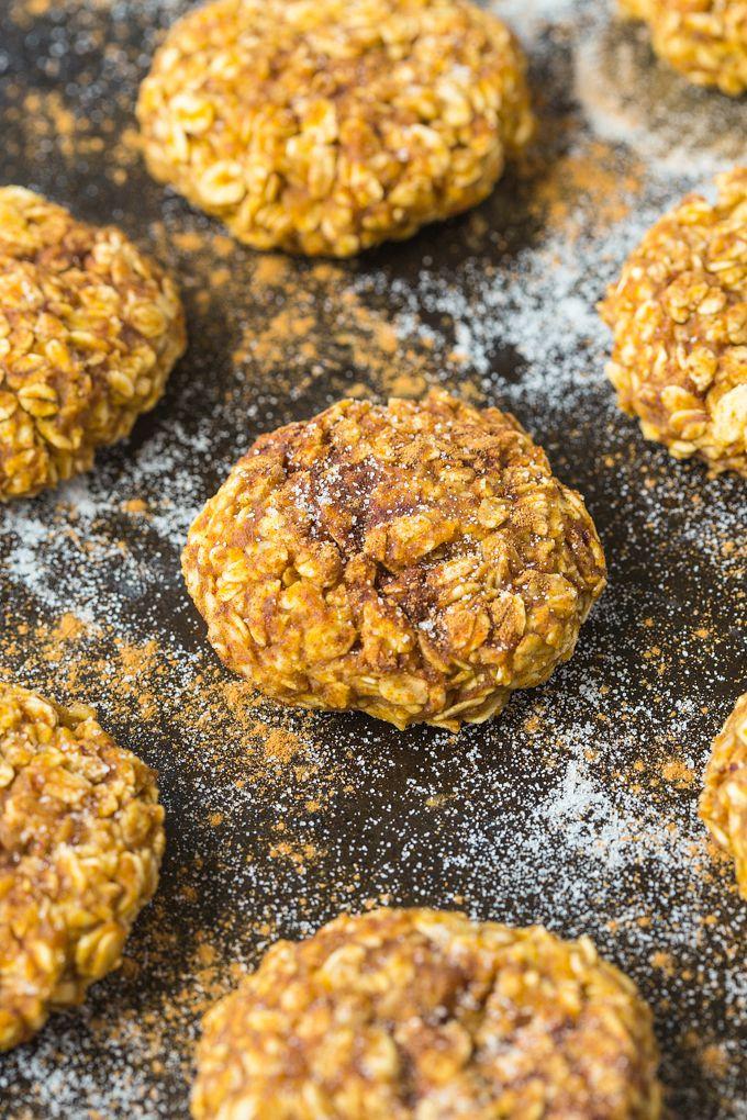 Healthy Applesauce Oatmeal Cookies  Healthy 4 Ingre nt Applesauce Cookies